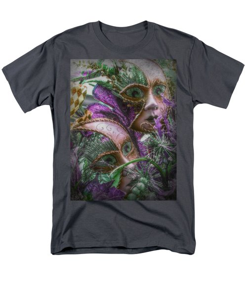 Purple Twins Men's T-Shirt  (Regular Fit) by Amanda Eberly-Kudamik