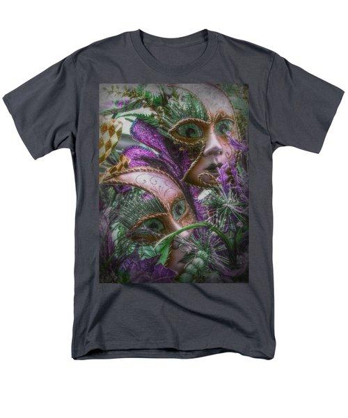 Purple Twins Men's T-Shirt  (Regular Fit)