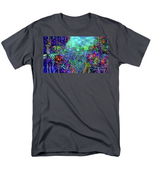 Men's T-Shirt  (Regular Fit) featuring the digital art Qualia's Reef by Russell Kightley