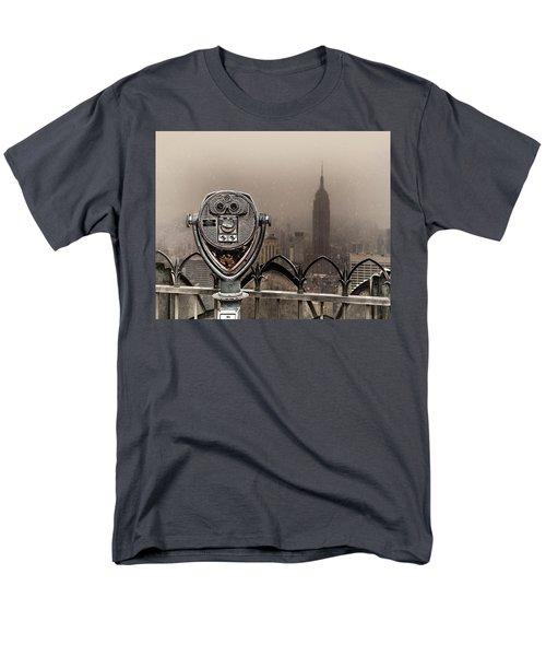Men's T-Shirt  (Regular Fit) featuring the photograph Quarters Only by Chris Lord