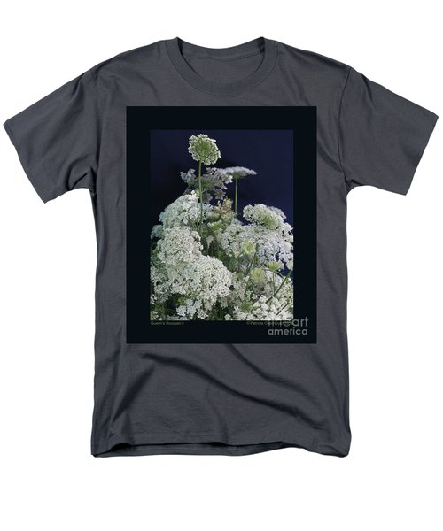 Queen's Bouquet-ii Men's T-Shirt  (Regular Fit) by Patricia Overmoyer