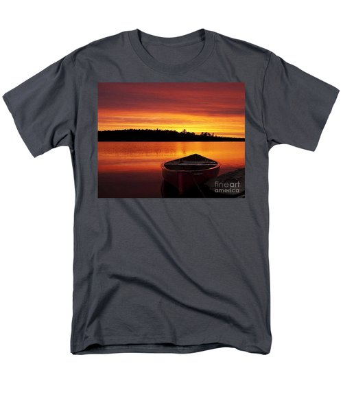 Quiet Sunset Men's T-Shirt  (Regular Fit) by Rod Jellison