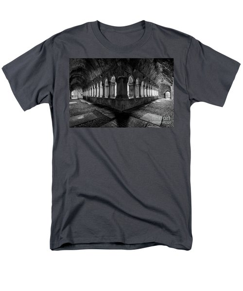 Men's T-Shirt  (Regular Fit) featuring the photograph Quin Abbey by Dennis Hedberg