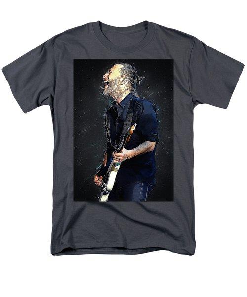 Radiohead - Thom Yorke Men's T-Shirt  (Regular Fit) by Semih Yurdabak