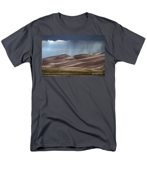 Rain On The Great Sand Dunes Men's T-Shirt  (Regular Fit) by Catherine Sherman