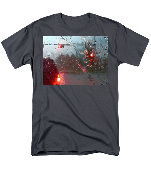 Rain Men's T-Shirt  (Regular Fit) by Rhonda McDougall