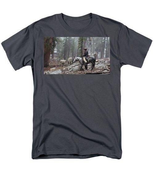 Rain Riding Men's T-Shirt  (Regular Fit) by Diane Bohna
