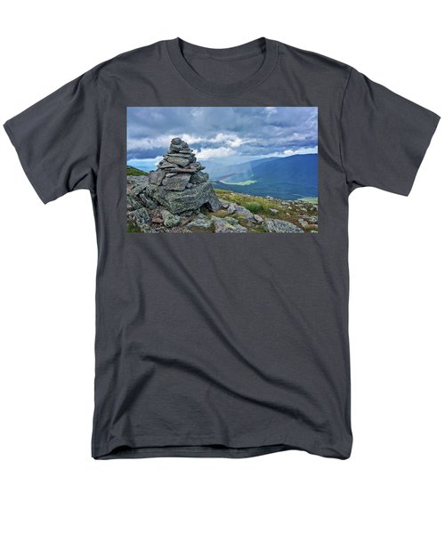 Rainbow In The Mist Nh Men's T-Shirt  (Regular Fit) by Michael Hubley