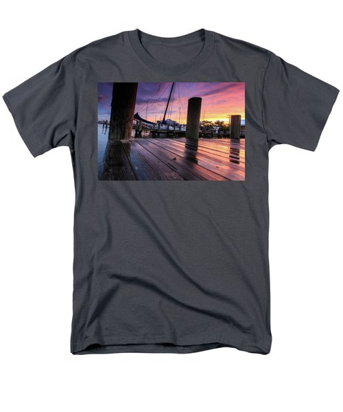 Men's T-Shirt  (Regular Fit) featuring the photograph Rainbow Reflections by Jennifer Casey
