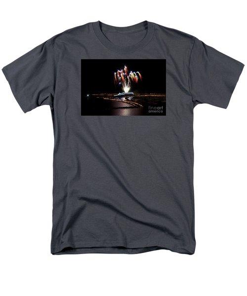 Raining Colour. Men's T-Shirt  (Regular Fit) by Gary Bridger