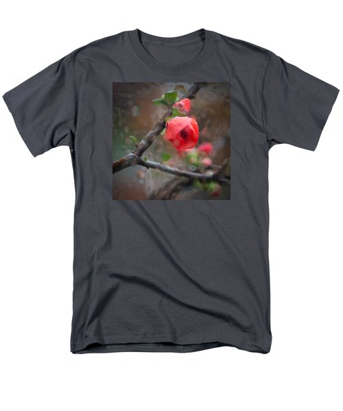 Raining Day Blossom  Men's T-Shirt  (Regular Fit) by Catherine Lau