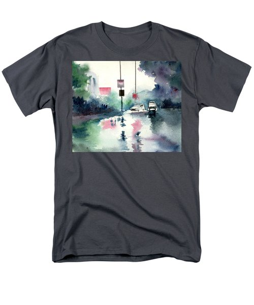 Rainy Day Men's T-Shirt  (Regular Fit) by Anil Nene