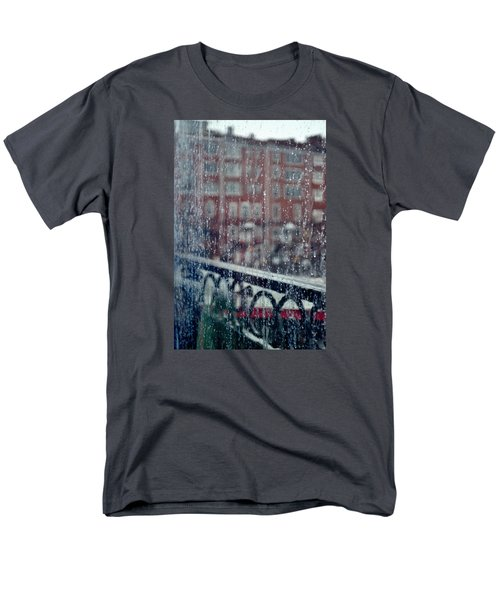 Rainy Day In Portsmouth Men's T-Shirt  (Regular Fit) by Richard Ortolano