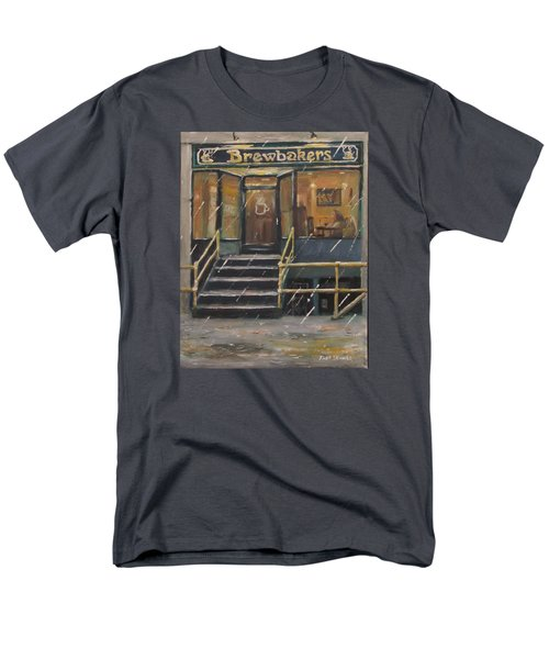 Rainy November Afternoon Coffee Men's T-Shirt  (Regular Fit) by Jack Skinner
