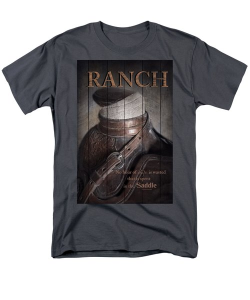 Men's T-Shirt  (Regular Fit) featuring the photograph Ranch by Robin-Lee Vieira