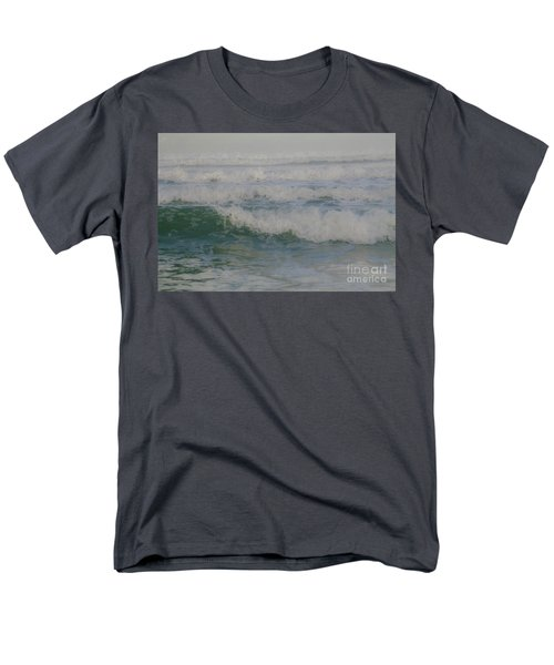 Rapid Waves Men's T-Shirt  (Regular Fit) by Iris Greenwell