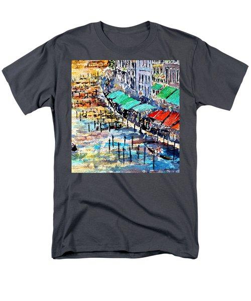 Recalling Venice 02 Men's T-Shirt  (Regular Fit) by Alfred Motzer