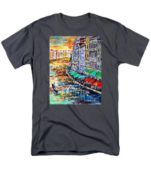 Recalling Venice 03 Men's T-Shirt  (Regular Fit) by Alfred Motzer