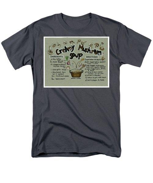 Recipe Mushroom Soup Men's T-Shirt  (Regular Fit)