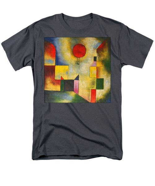 Red Balloon Men's T-Shirt  (Regular Fit) by Paul Klee