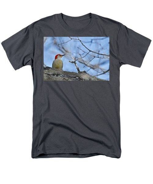 Men's T-Shirt  (Regular Fit) featuring the photograph Red-bellied Woodpecker 1137 by Michael Peychich