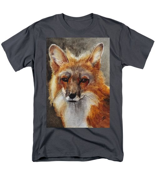 Red Fox Men's T-Shirt  (Regular Fit)