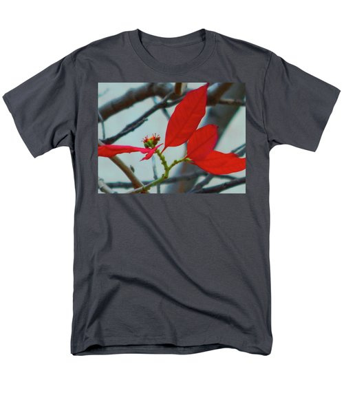 Red Leaves Men's T-Shirt  (Regular Fit) by Beto Machado
