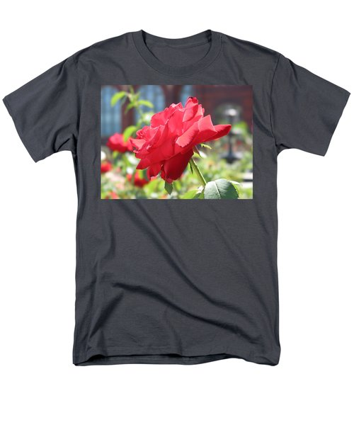 Red Rose Men's T-Shirt  (Regular Fit) by Brian McDunn
