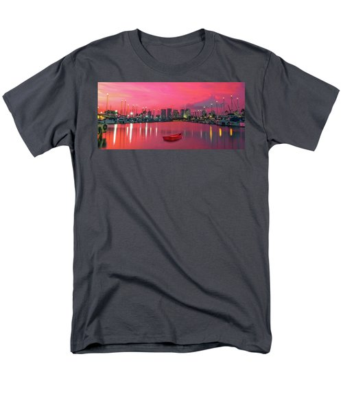 Red Skies At Night Men's T-Shirt  (Regular Fit) by James Roemmling