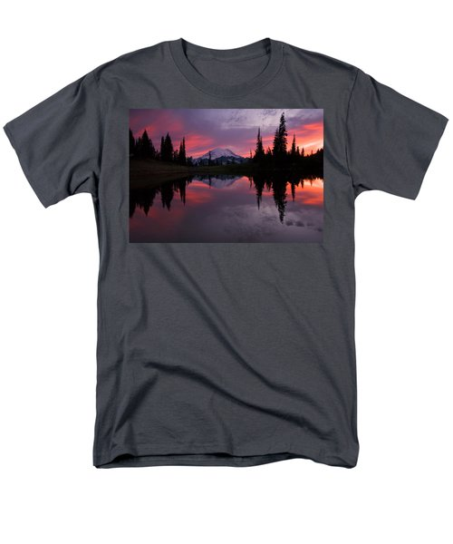 Red Sky At Night Men's T-Shirt  (Regular Fit) by Mike  Dawson
