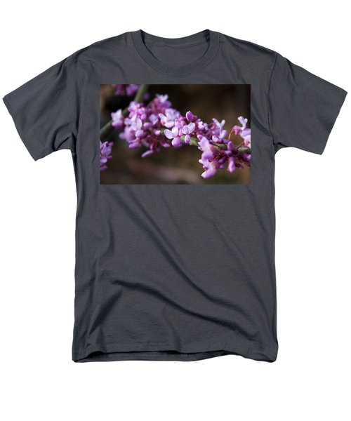 Men's T-Shirt  (Regular Fit) featuring the photograph Redbuds In March by Jeff Severson
