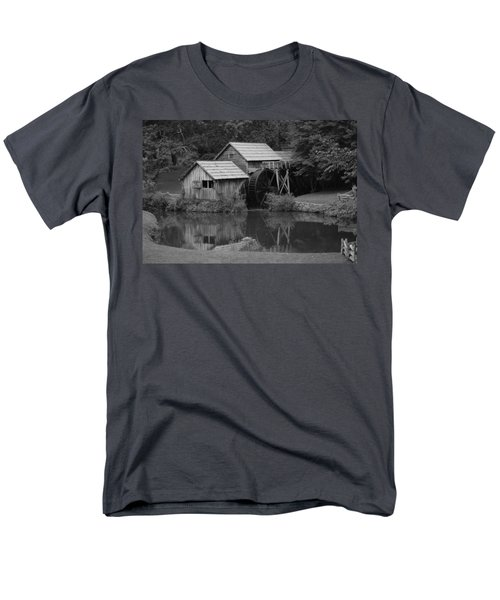 Reflecting The Mill Men's T-Shirt  (Regular Fit) by Eric Liller