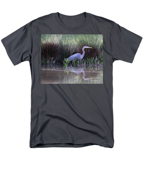 Reflections At Nassau Grove Men's T-Shirt  (Regular Fit) by Allan Levin