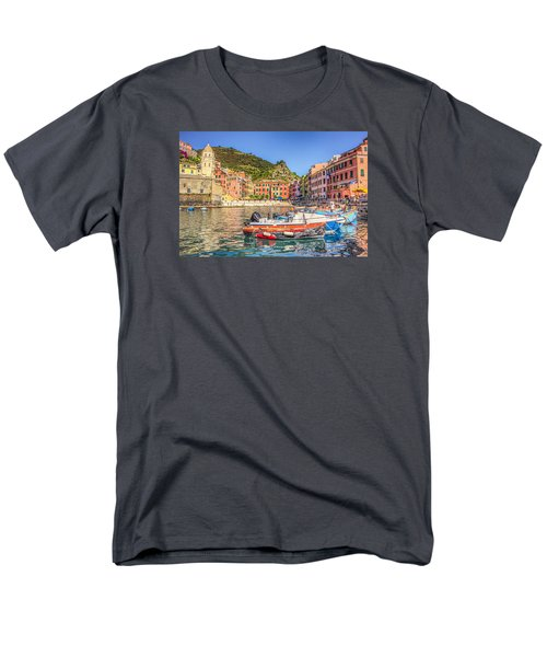 Men's T-Shirt  (Regular Fit) featuring the photograph Reflections Of Italy by Brent Durken