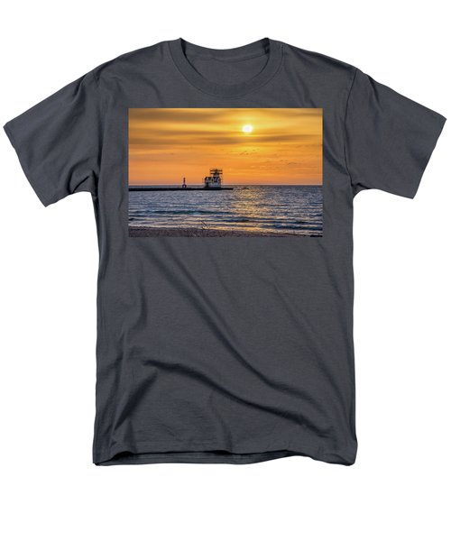 Men's T-Shirt  (Regular Fit) featuring the photograph Rehabilitation Rising by Bill Pevlor
