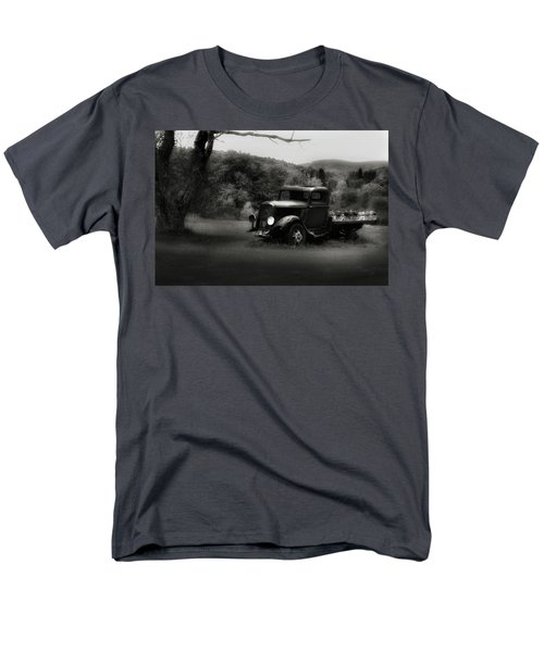 Men's T-Shirt  (Regular Fit) featuring the photograph Relic Truck by Bill Wakeley