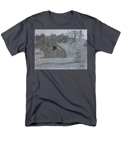 Remote Cabin Men's T-Shirt  (Regular Fit)