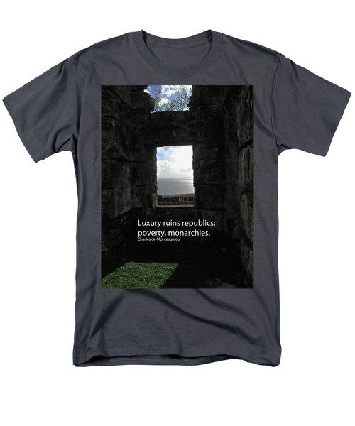 Republics And Monarchies Men's T-Shirt  (Regular Fit) by Ian  MacDonald
