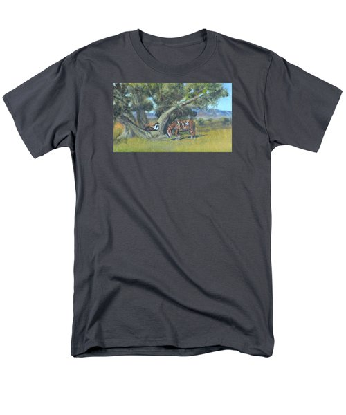 Resting Cowboy Painting A Study Men's T-Shirt  (Regular Fit) by  Luczay