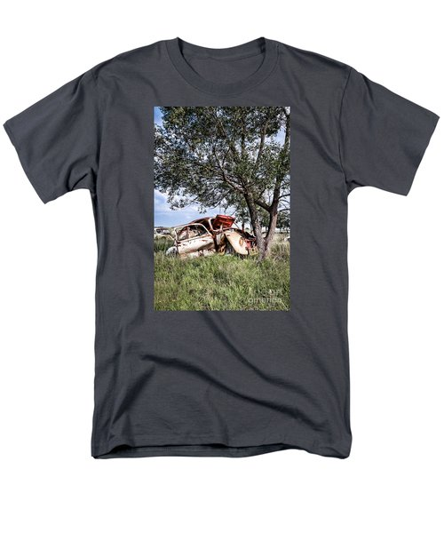 Men's T-Shirt  (Regular Fit) featuring the photograph Retired Bug by Lawrence Burry