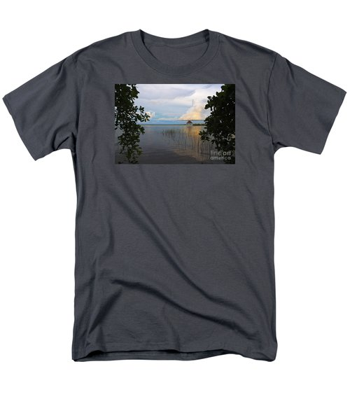 Men's T-Shirt  (Regular Fit) featuring the photograph Revealing The Lagoon by Yuri Santin