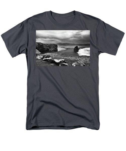 Reynisfjara Men's T-Shirt  (Regular Fit) by Wade Courtney