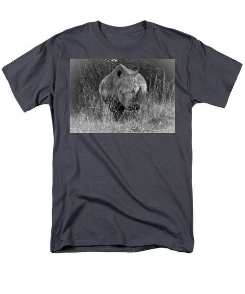 Rhino Men's T-Shirt  (Regular Fit) by Patrick Kain
