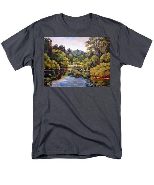 Richard's Pond Men's T-Shirt  (Regular Fit) by Alexandra Maria Ethlyn Cheshire