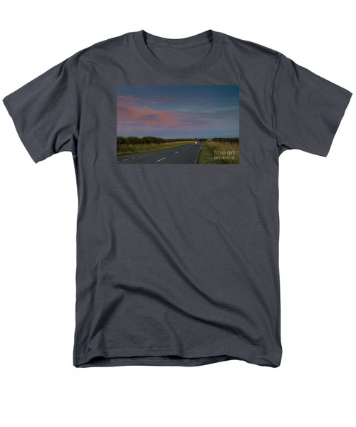 Riding Into The Sunset Men's T-Shirt  (Regular Fit) by David  Hollingworth