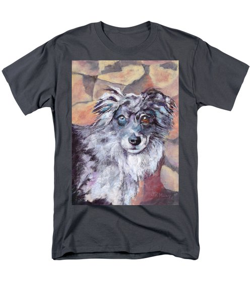 Men's T-Shirt  (Regular Fit) featuring the painting Riley by Julie Maas