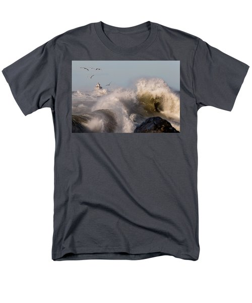 Men's T-Shirt  (Regular Fit) featuring the photograph Rise Above The Turbulence by Everet Regal