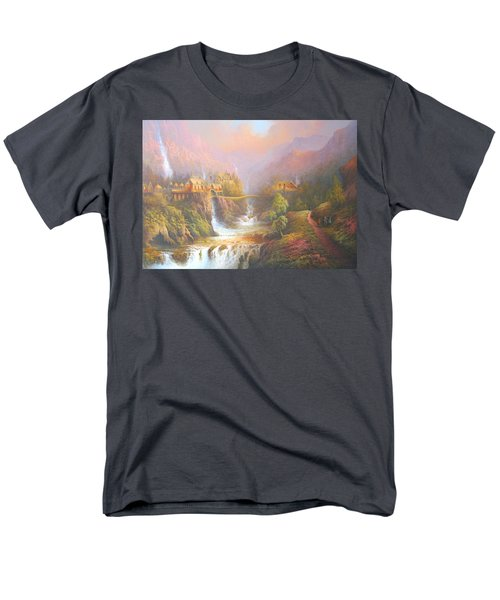 Rivendell Men's T-Shirt  (Regular Fit) by Joe Gilronan