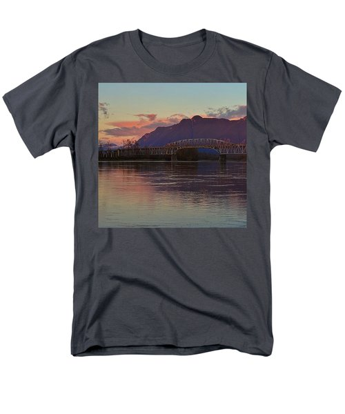 Fraser River, British Columbia Men's T-Shirt  (Regular Fit) by Heather Vopni