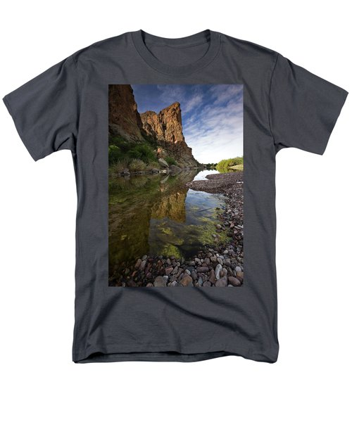 River Serenity Men's T-Shirt  (Regular Fit) by Sue Cullumber